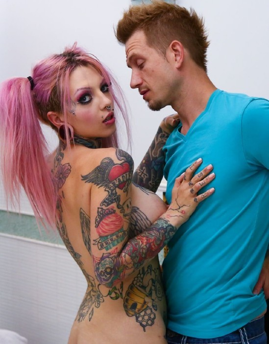 Burningangel.com - Bill Bailey, Sydnee Vicious - Big Tit Tattooed Stepsister Sydnee Vicious [FullHD]
