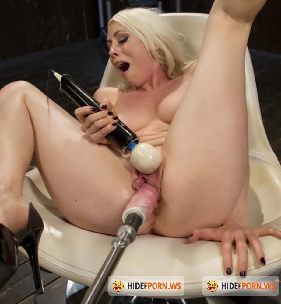 FuckingMachines/Kink - Lorelei Lee - Blonde Goddess is Double Penetrated with Machines!! [HD 720p]