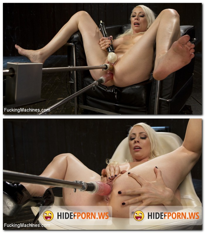FuckingMachines.com/Kink.com: Lorelei Lee - Blonde Goddess is Double Penetrated with Machines!! [SD 540p]