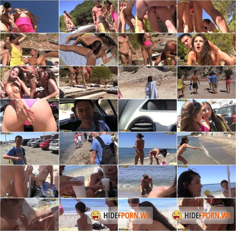 CollegeFuckParties.com - Agnessa, Carla, Leila - Real Sex Party On The Sunny Beach Part 2 [HD 720p]