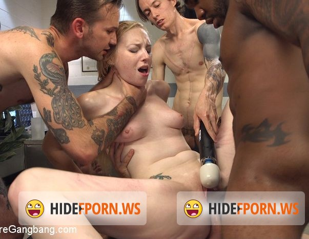 HardcoreGangBang/Kink.com - Delirious Hunter - Deliriously Gangbanged [HD]