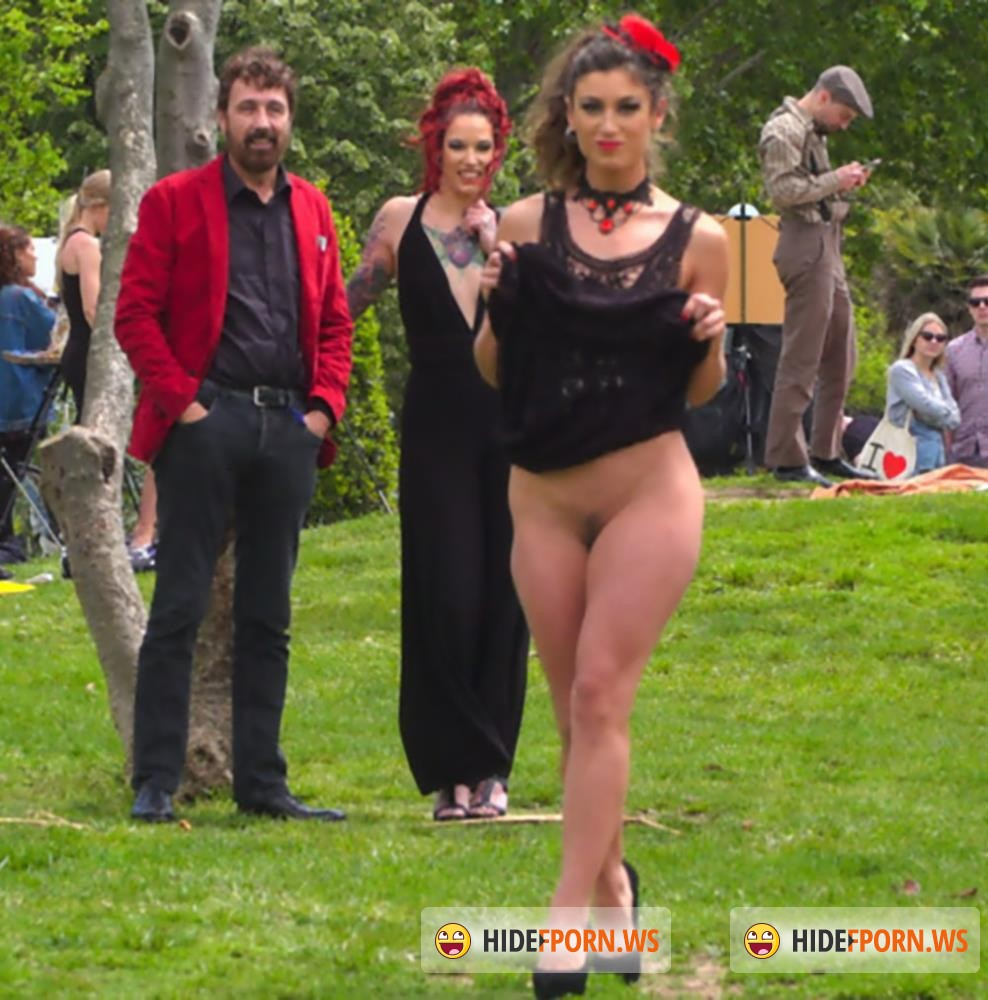 PublicDisgrace/Kink - Holmes, Silvia Rubi, Pablo Ferrari, Julia Roca - Shy Pretty Bitch Sings in Pain - Part 1 [HD 720p]