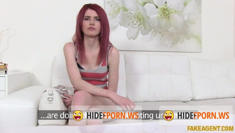 FakeAgent.com - Anne Swix - Redhead Gets Agent Spunk on Her Ass [SD 480p]