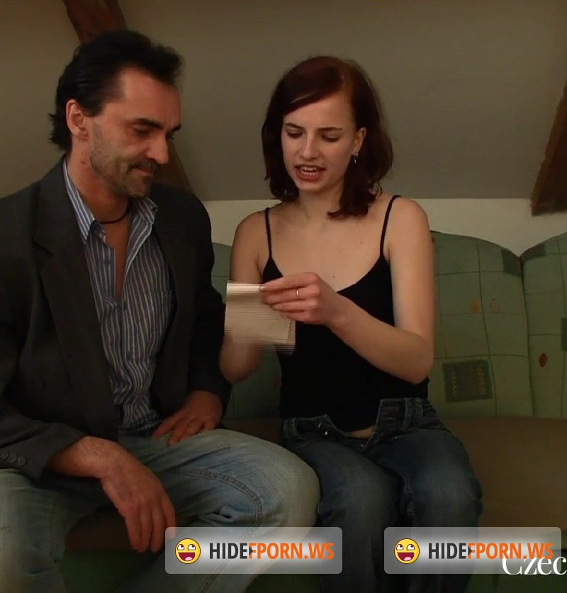 CzechHornyDads.com - Leila Smith - A quickie on the couch [FullHD 1080p]