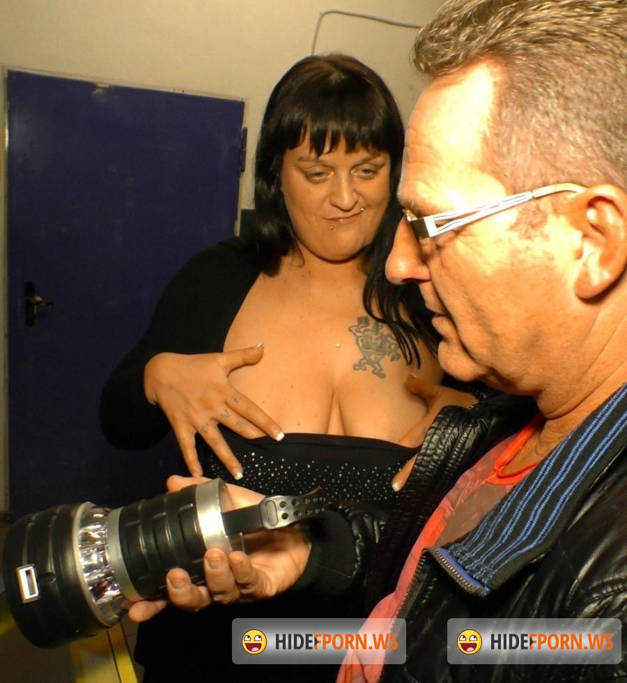 HausFrauFicken.com/PornDoePremium.com -  Kim Schmidts - Chubby tattooed German housewife enjoys hardcore fuck and facial [SD 480p]