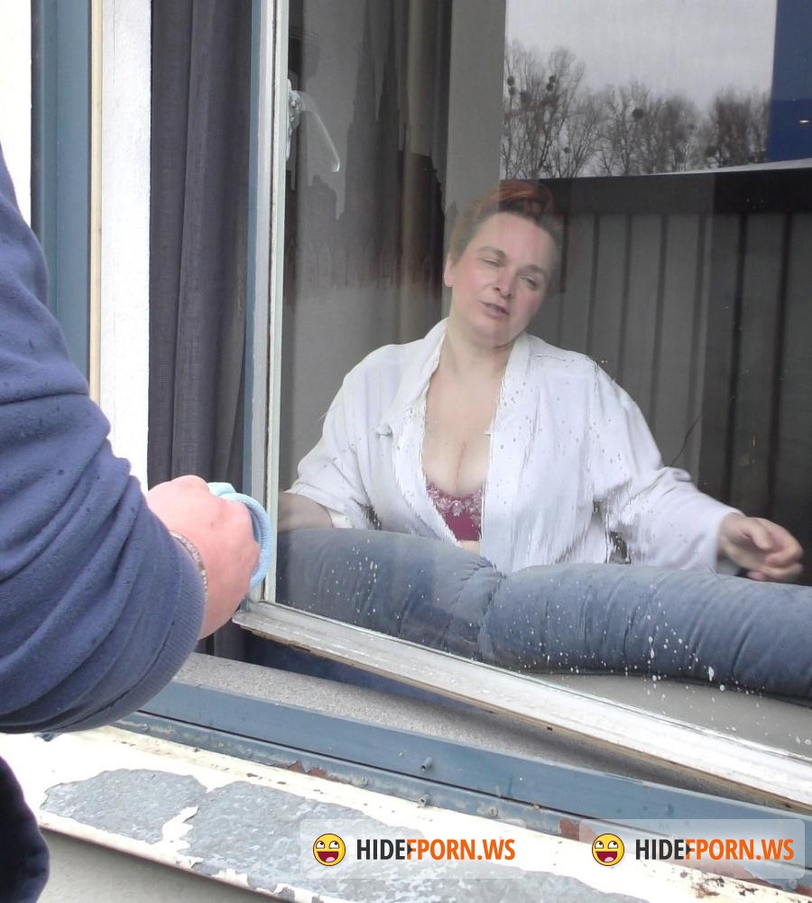 HausFrauFicken.com/PornDoePremium.com -  Sylvie, Berud - Mature German BBW housewife gets cum in mouth in hot sex session [SD 480p]