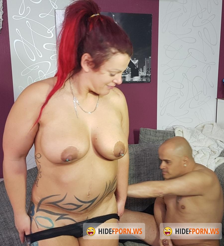 HausFrauFicken.com/PornDoePremium.com -  Lea Luestern - Chubby amateur German housewife enjoys hardcore sex session [SD 480p]