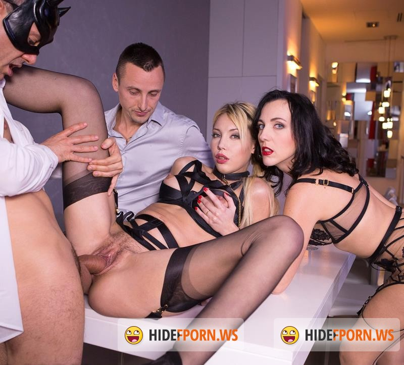 DorcelClub.com - Kimber Delice, Mya Loren - Kimber Given To 2 Men By Mistress Mya Lorenn [SD 480p]