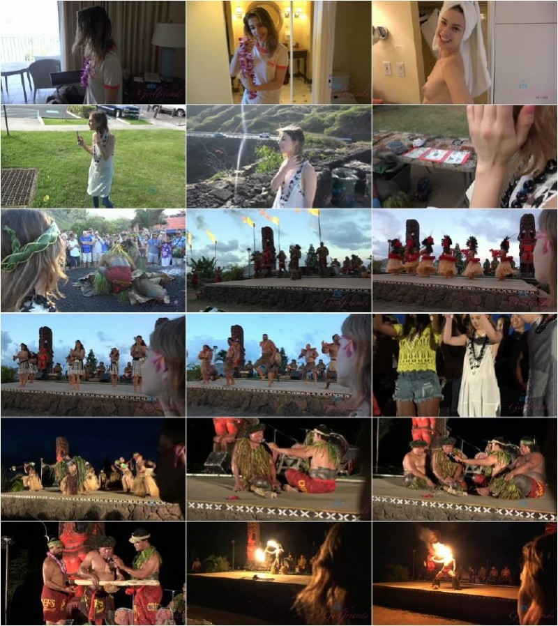 AtkGirlfriends.com - Kristen Scott - Kristen is super excited to go to Hawaii [FullHD 1080p]