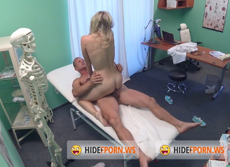 image Fakehospital cute blonde patient gets pussy exam then fucked hard by doctor