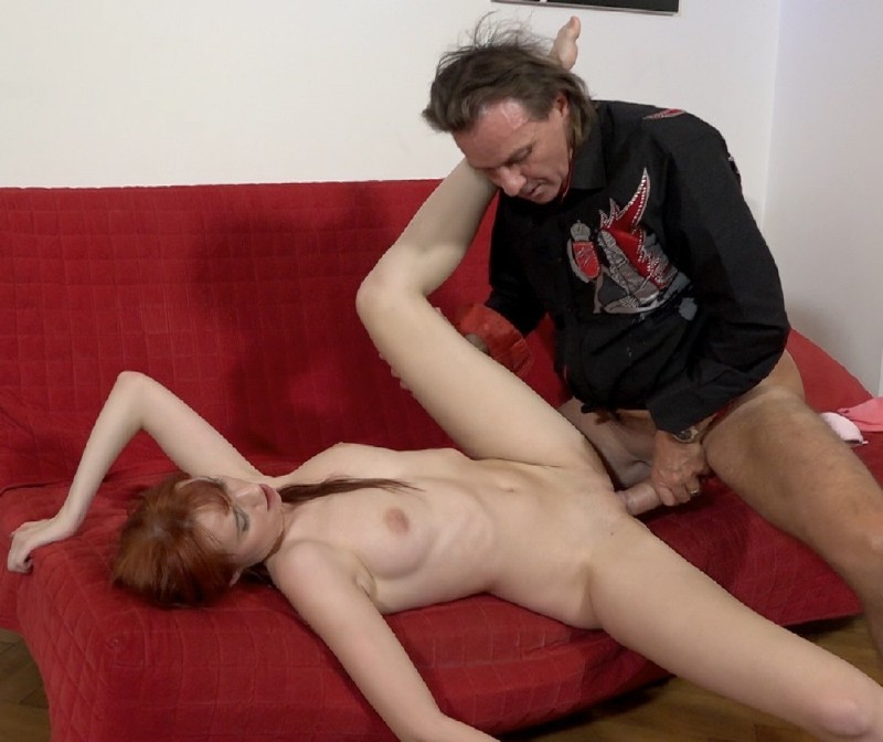 MagmaFilm.com - Chelsy Sun - Big George Does A Pale And Petite Girl [FullHD 1080p]