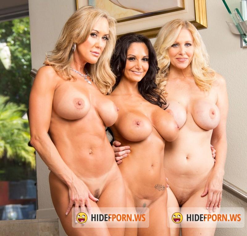 Puremature.com – Julia Ann, Brandi Love, Ava Addams – Sex With Three Hot Milf [HD 720p]