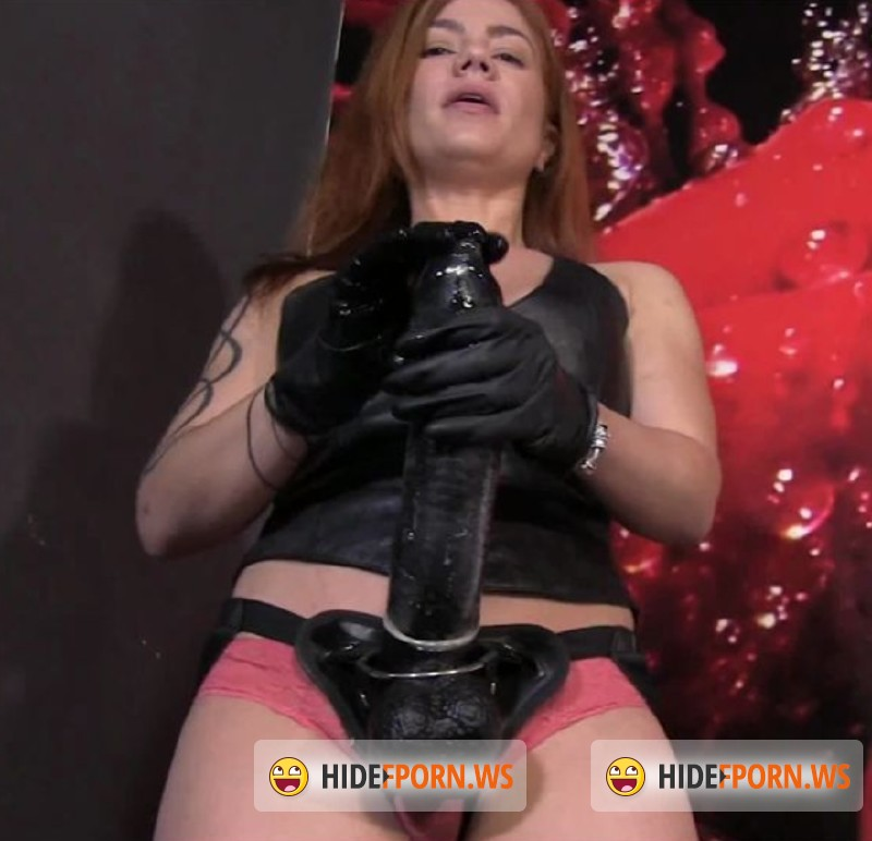 EllaKross.com - Mistress - Tormenting My Slave with the Biggest Strap-On Ever [FullHD 1080p]