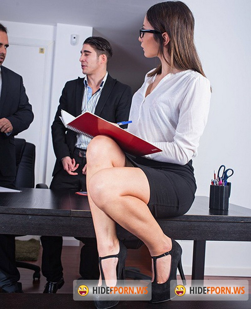 HardFuckTales.com/WTFPass.com - Valentina Bianco - Wild DP Sex in the Office [FullHD 1080p]