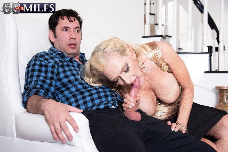 60PlusMilfs.com/PornMegaLoad.com - Layla Rose - Layla is 68, and this is her first time...on-camera! [HD 720p]