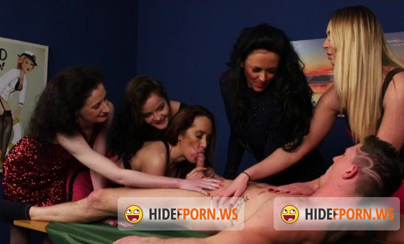 PureCFNM.com - Dolly Diore, Jess Scotland, Lexi Ryder, Ruby Ryder, Scarlet Red - Come Dine On Me [FullHD 1080p]