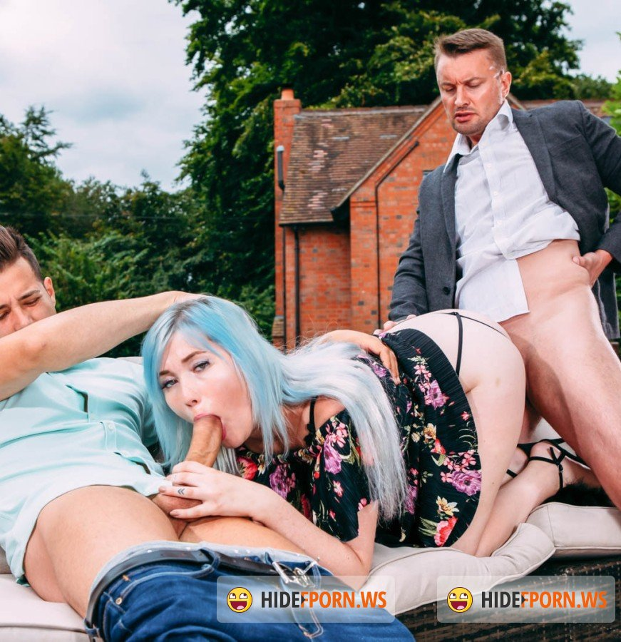Private - Misha Mayfair - Misha Mayfair debuts in Private with DP in the garden [HD]