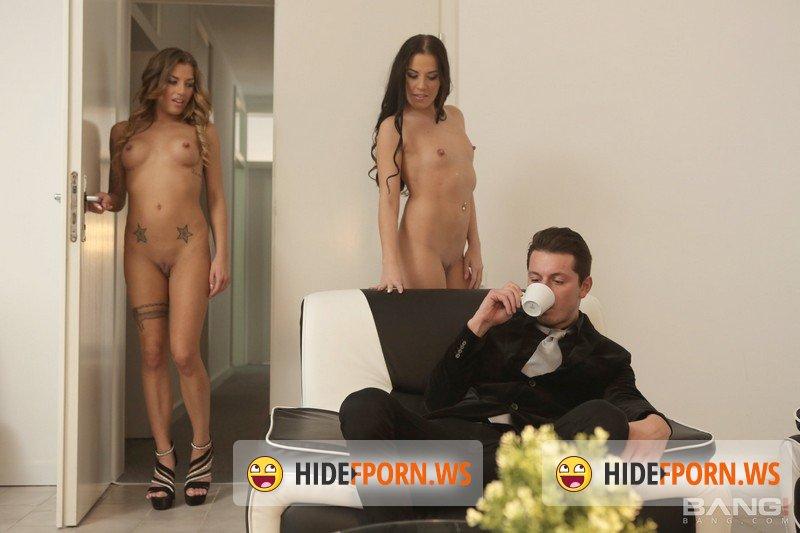 Bang - Eveline Dellai, Silvia Dellai - Twins Eveline And Silvia Dellai Get Anal Action In Studio Foursome [SD 540p]