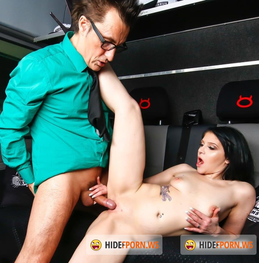 BumsBus/PorndoePremium - Conny Dachs, Mini Hotcore - Exhibitionist sex in the backseat with tattooed German hottie Mini Hotcore [HD 720p]