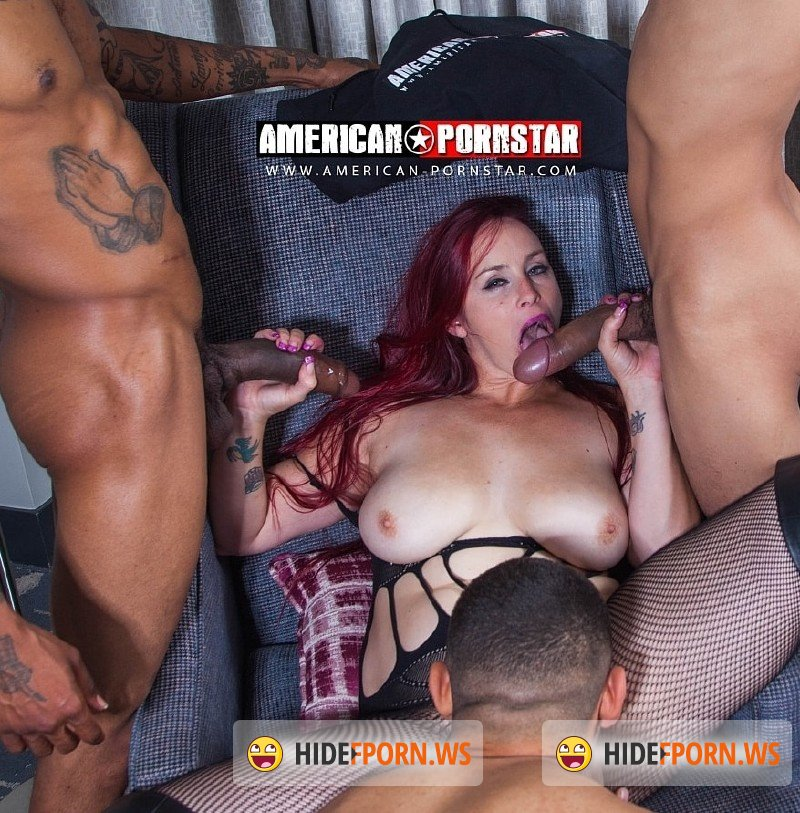 American-Pornstar.com - Bella Rossi - Bella Rossi Takes 4 Big Dicks Part 2 [SD 540p]