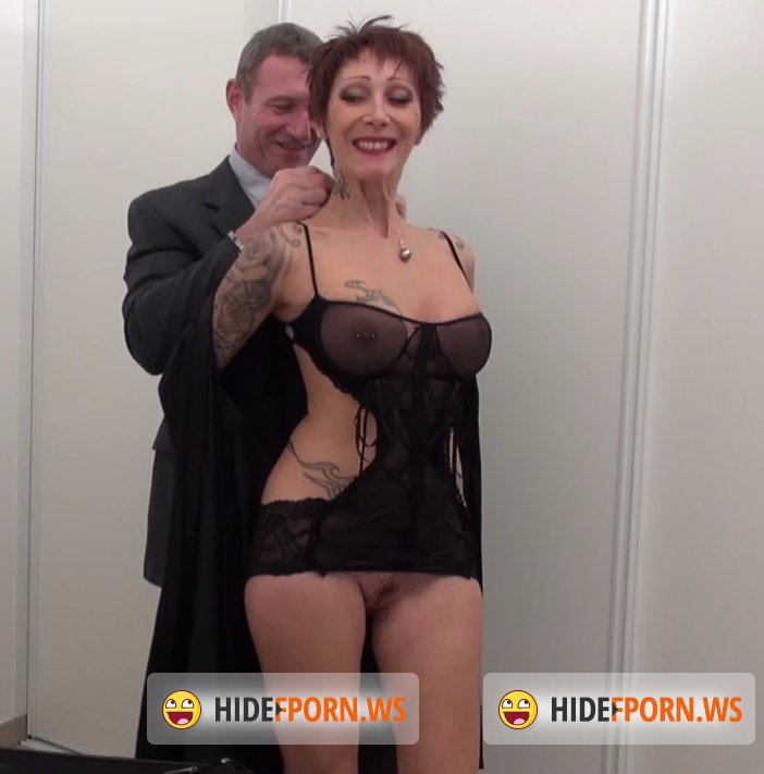 NudeInFrance.com - Catalya - A stunning tattooed big titted housewife mom hard banged and sodomized with cum in mouth before her husband leaving for a party [SD 406p]