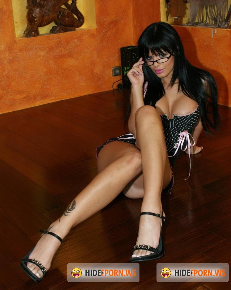 PremiumHDV.com - Black Angelika - High Heels & Glasses [HD 720p]