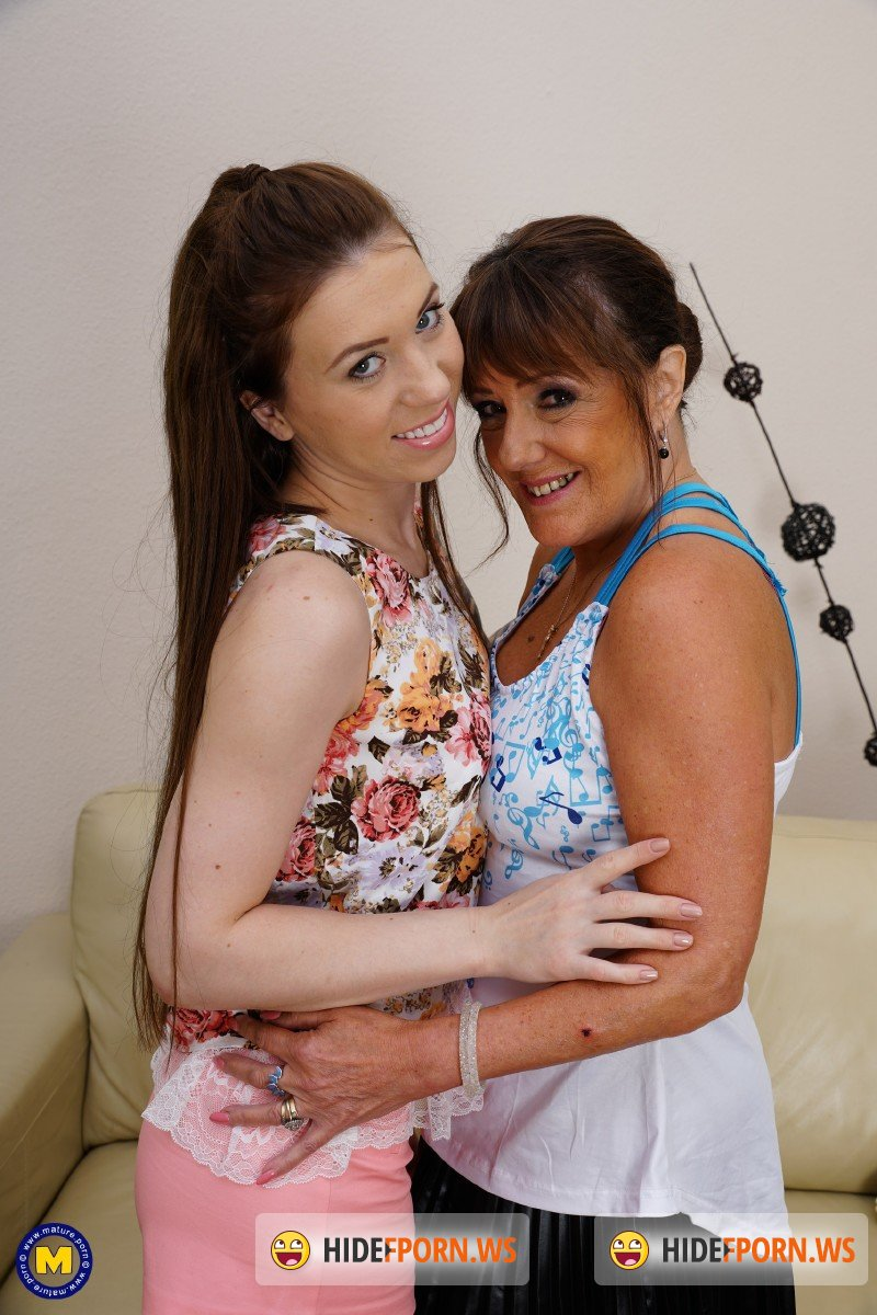 Mature.nl - Monika Wild 22, Pandora EU 57 - 2 old and young lesbians playing with eachother [FullHD 1080p]
