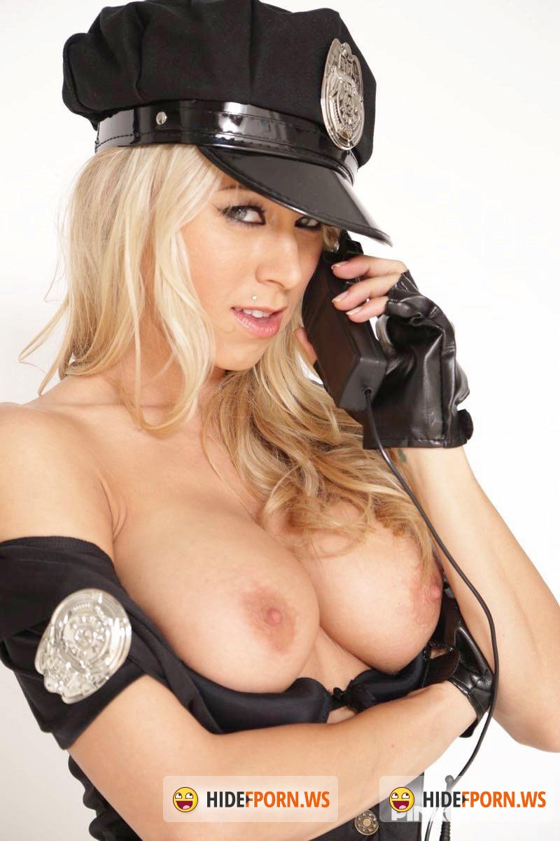 PinkoClub.com - Katie Morgan - Policewoman imprisons a hard cock in her pussy [SD 406p]