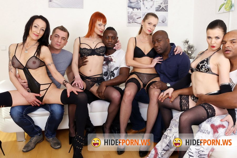 LegalPorno.com - Ally Style, Kessie Shy, Nika, Lyna Cypher - Kinky Anal Orgy With Kessie Shy, Lyna Cypher, Ally Style And Nika KS002 [UltraHD 4K]