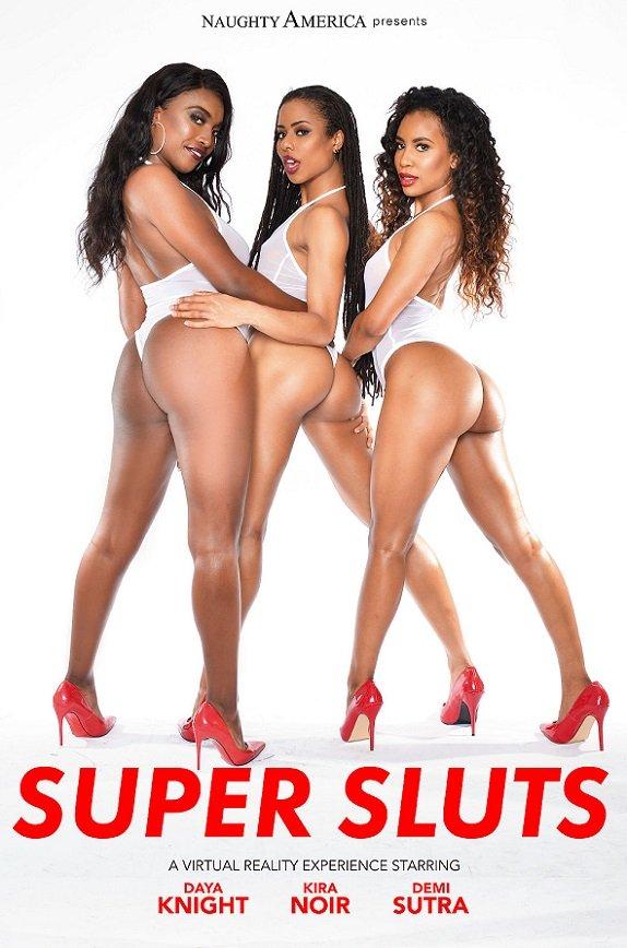 NaughtyAmericaVR.com - Daya Knight, Demi Sutra, Kira Noir - Super Sluts [UltraHD 2K 1440p]