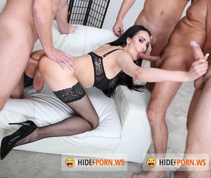 LegalPorn.com - Kimber Lee - Shemale Gang Bang Orgy [SD 480p]