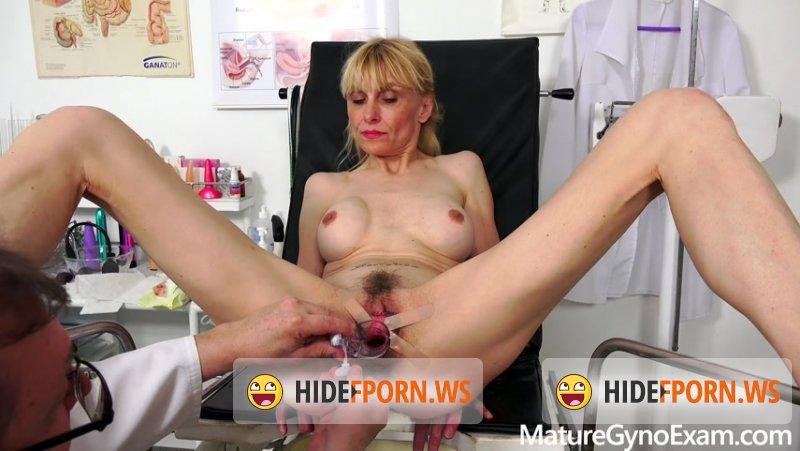 MatureGynoExam - Valeria Blond - Mature Gyno Exam [FullHD 1080p]