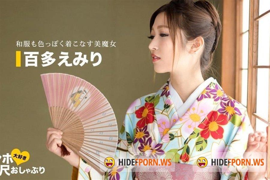 1Pondo - Emiri Momota - Instant Bj A Woman With A Very Erotic Kimono  , [2020/FullHD]