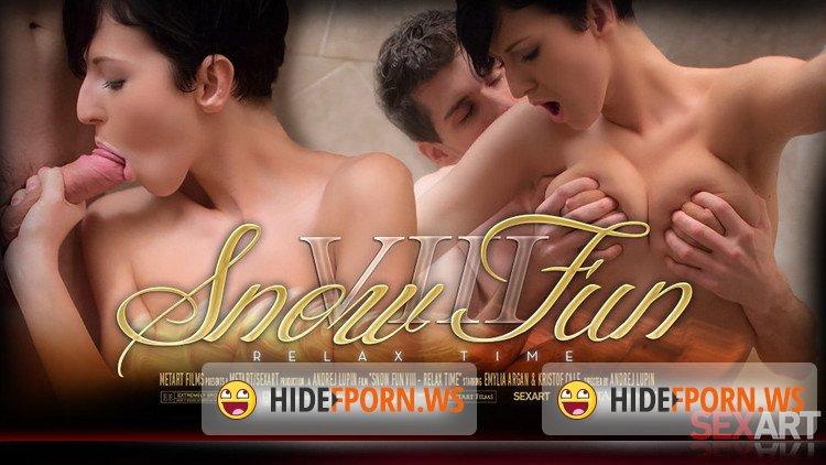 SexArt.com - Emylia Argan - Snow Fun VIII - Relax Time [FullHD 1080p]
