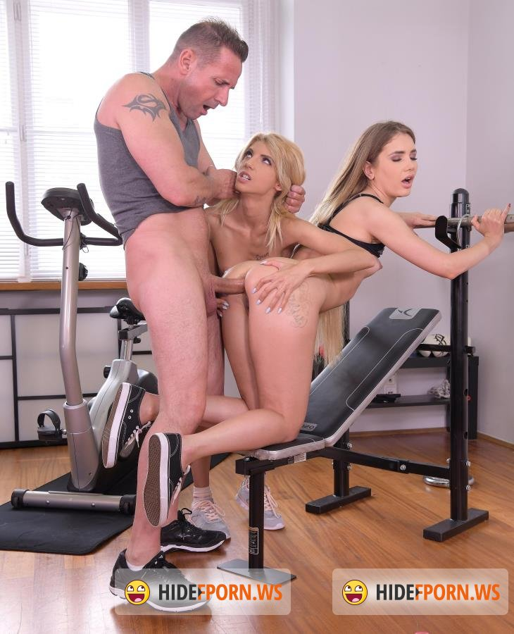 HandsOnHardcore - Mary Rock, Missy Luv - Threesome Gets Kinky in the Gym [FullHD/1080p]