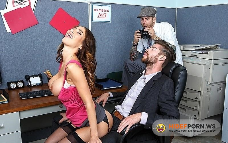 BigTitsAtWork - Sandee Westgate - Putting The Ass Back In Harassment [2020/HD]