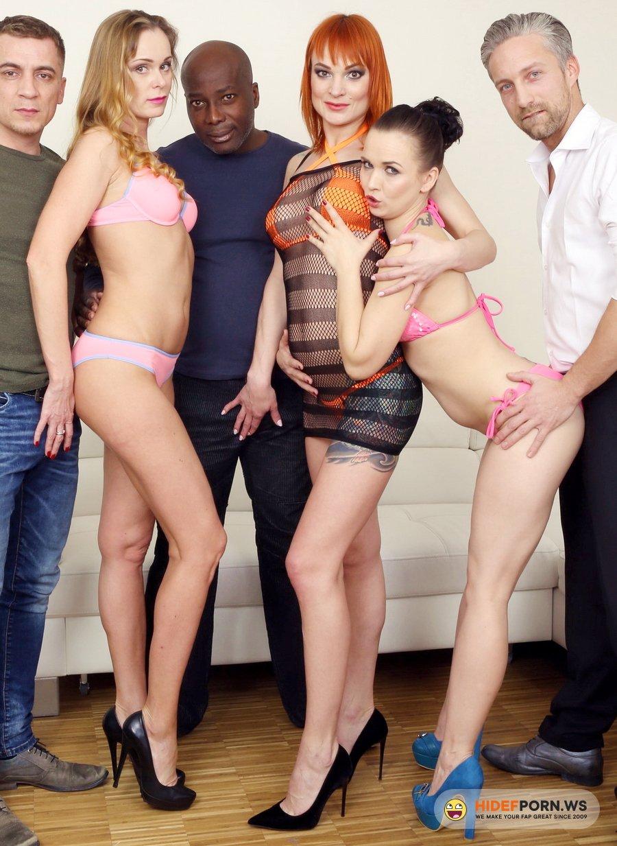 LegalPorno.com - Ally Style, Kessie Shy, Nika - Kinky Anal Orgy With Kessie Shy, Ally Style And Nika KS012 [UltraHD 4K]