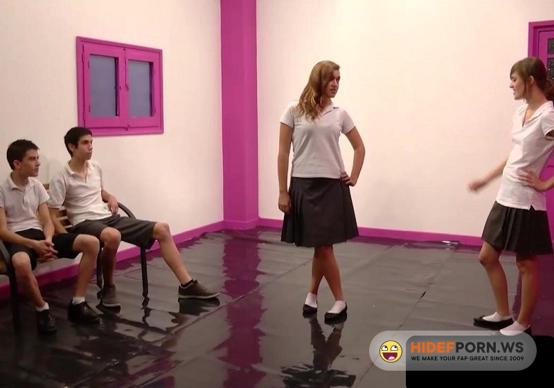 Amateurporn.cc - Jordi El Nino Polla and Ainara - Shy Teenagers Orgy [HD 720p]