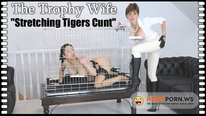 Lady-Sonia.com - Lady Sonia, Tiger - Stretching Tigers Cunt [HD 720p]