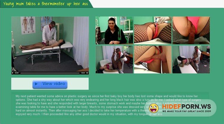 FakeHospital.com - Victoria Daniels - Young mum takes a thermometer up her ass [HD 720p]