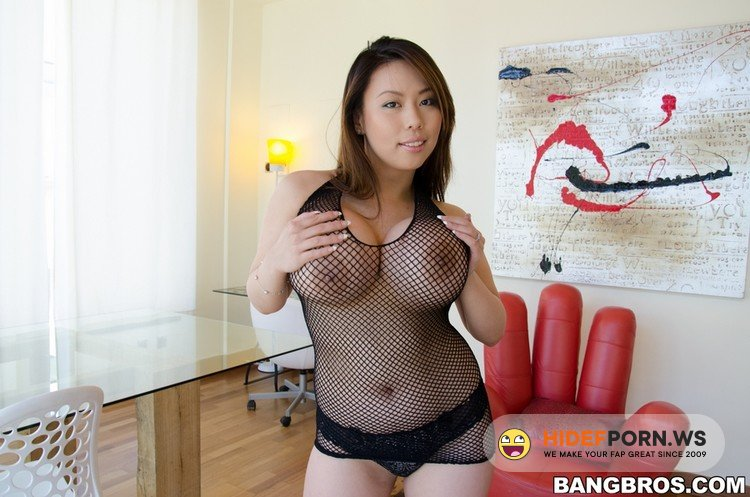 BigTitsRoundAsses.com/BangBros.com - Tiger Benson - Asian With Huge Tits and A Fat Ass! [HD 720p]