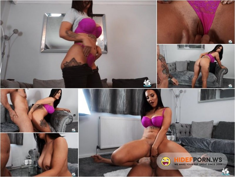 TrueAmateurs - Jess Miller - Big Breasted Brunette Gets Anal and Creampie [HD 720p]