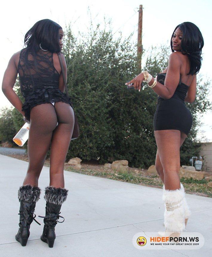 PornFidelity.com - Nyomi Banxxx, Ana Foxxx, Kelly Madison - Our Black New Years [HD 720p]