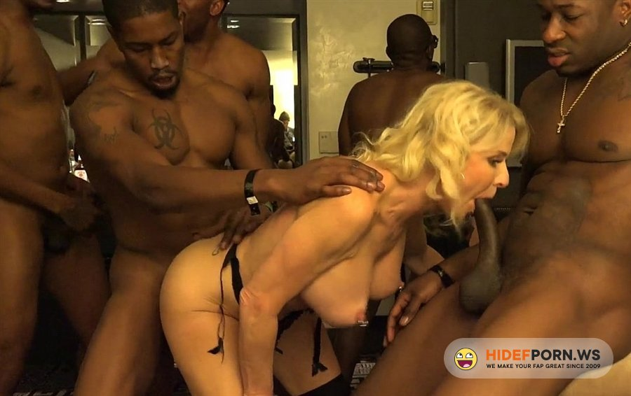 BlacksOnCougars - Cammille Austin - Girl Enjoys An Interracial Gang-Bang [2020/FullHD]