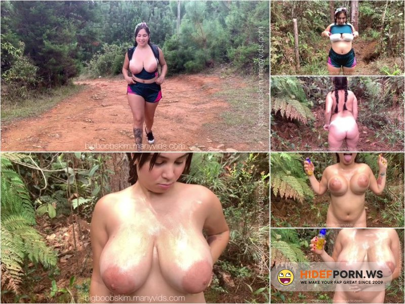 Chaturbate - BigBoobsKim Kim Velez - Boobs In The Woods [FullHD 1080p]
