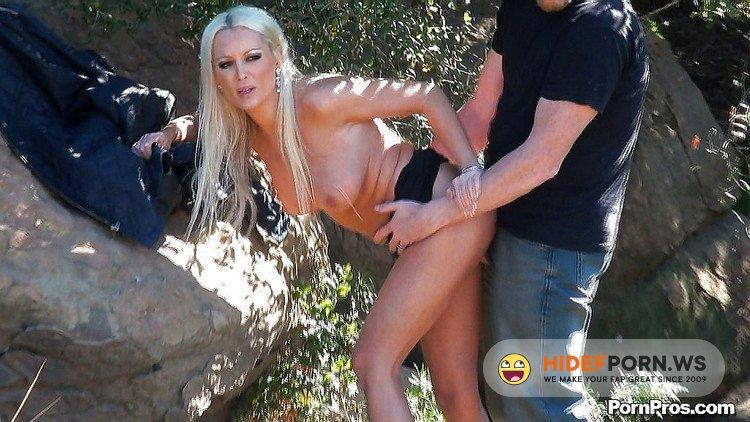 PublicViolations.com/PornPros.com - Diana Doll - Busty Blonde Fucked Outdoors Cocaine [HD 720p]
