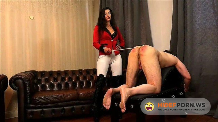 SadoLadiesFemdomClips - Domina Charlize - 6 Canings In 24 Hours [HD 720p]