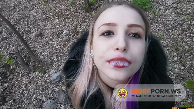PornhubPremium - Stacy Starando - Random Blowjob To My Stepbrother Dick In Real Public Area [2020/FullHD]