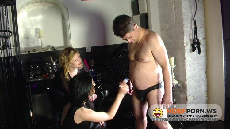 MistressBlackdiamoond - Slave Smirched And Circumsized - Humiliation [FullHD 1080p]