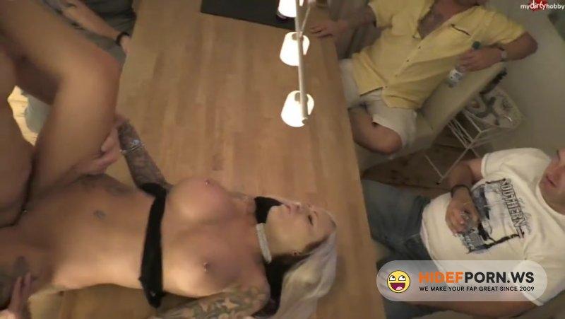 MyDirtyHobby - MilaElaine - Party-Time - Männerabend eskaliert [HD 720p]